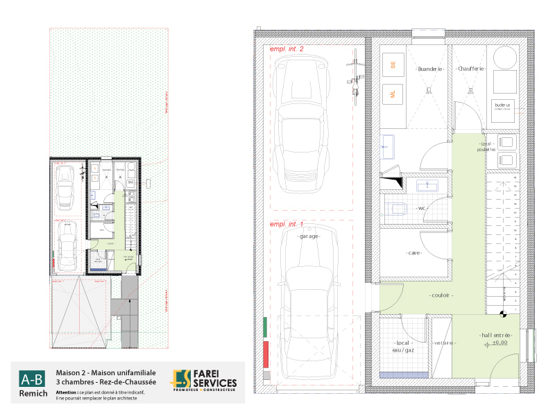 acheter maison 3 chambres 180 m² remich photo 4