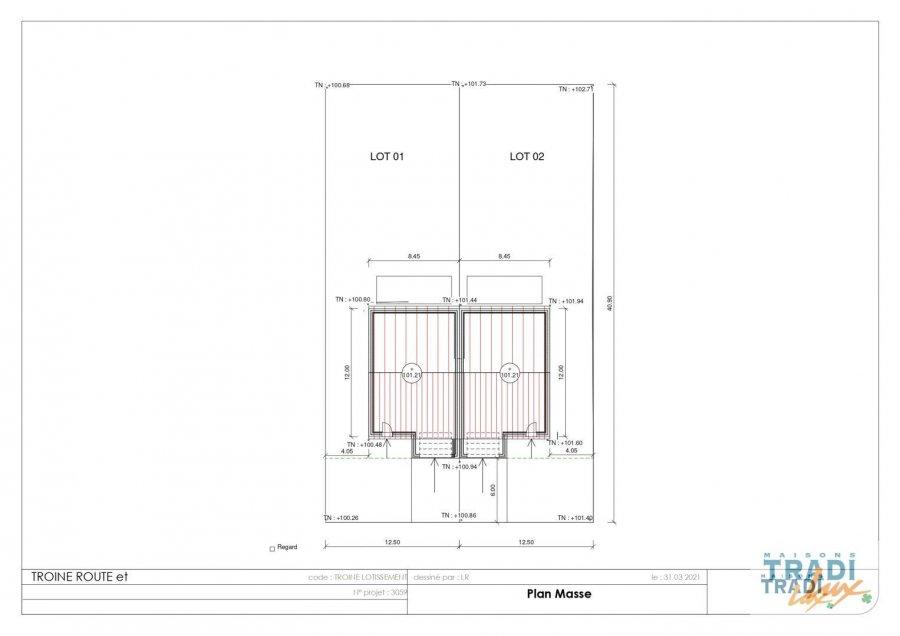 acheter maison jumelée 3 chambres 125 m² troine-route photo 3