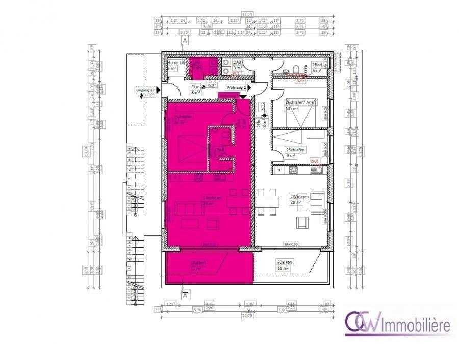 acheter appartement 4 pièces 64 m² echternacherbrück photo 4