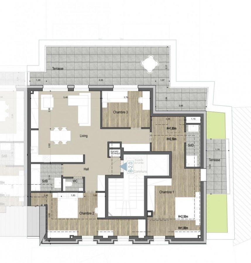 acheter penthouse 3 chambres 105 m² kehlen photo 4
