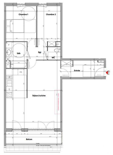 acheter appartement 3 pièces 78 m² nancy photo 3
