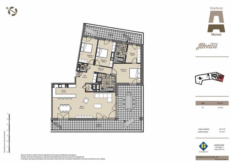 penthouse-wohnung kaufen 3 schlafzimmer 132 m² wickrange foto 1