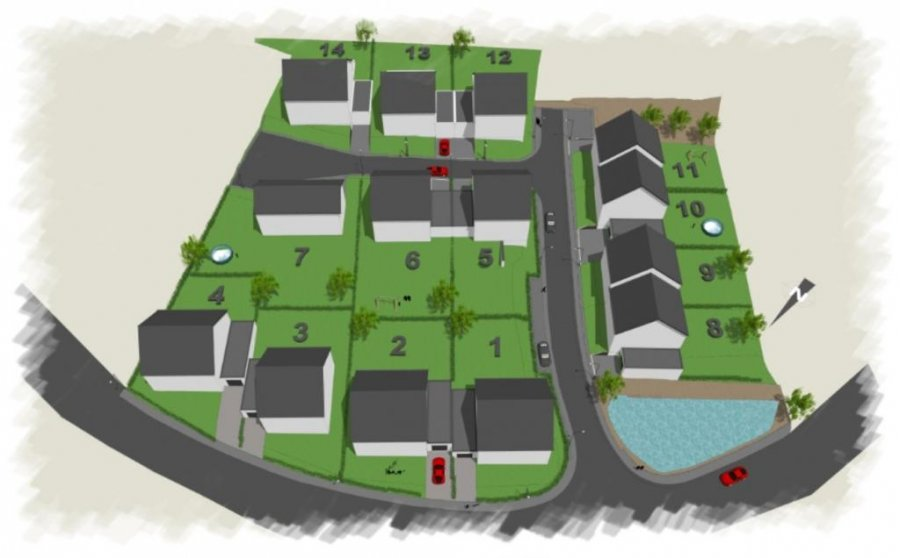 acheter terrain constructible 0 chambre 0 m² wilwerdange photo 6
