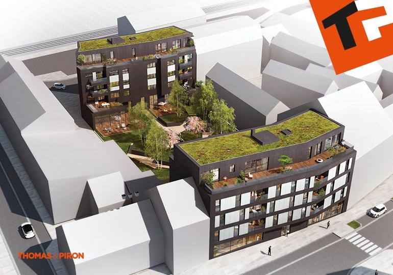 acheter penthouse 3 chambres 122.29 m² schifflange photo 3