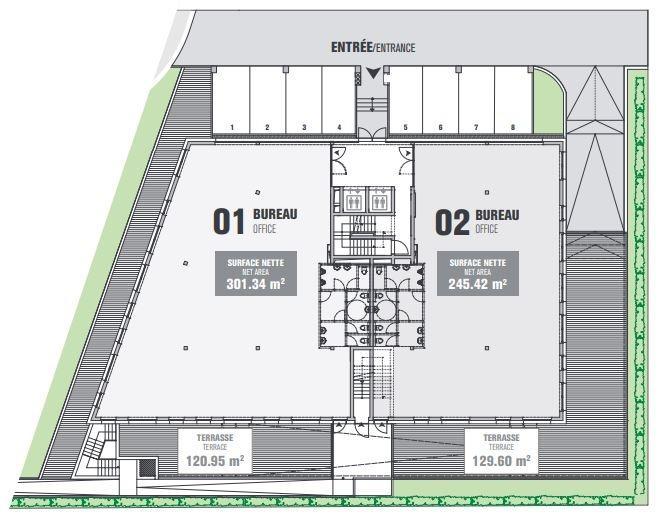 Bureau à vendre à Bettembourg