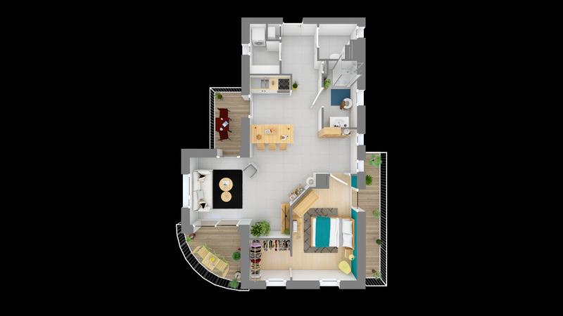 acheter appartement 2 pièces 62 m² yutz photo 3