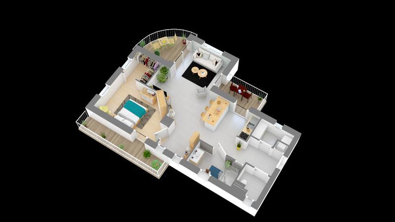 acheter appartement 2 pièces 62 m² yutz photo 2