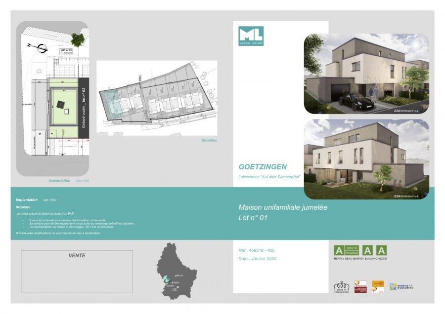 acheter maison jumelée 5 chambres 190 m² goetzingen photo 2