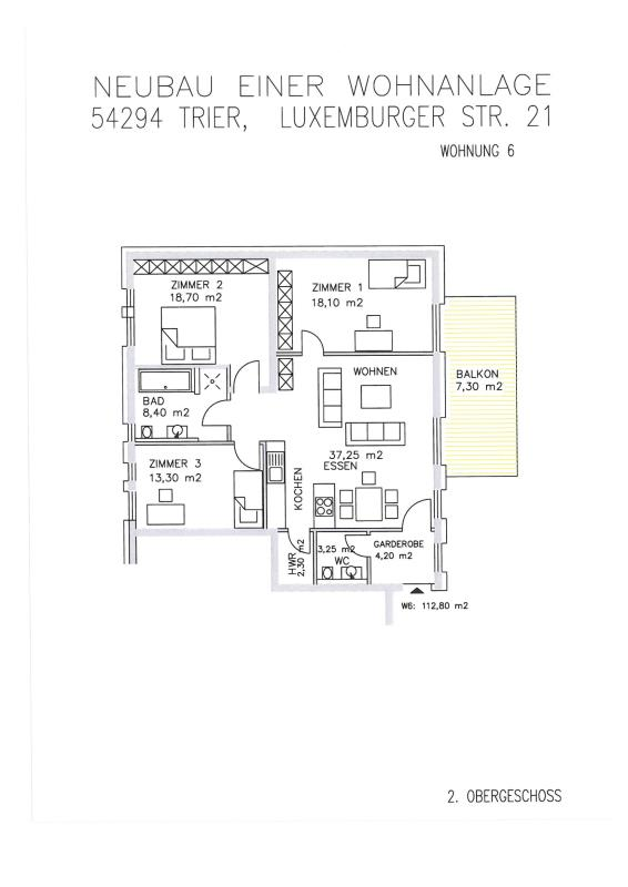 acheter appartement 4 pièces 112.14 m² trier photo 4
