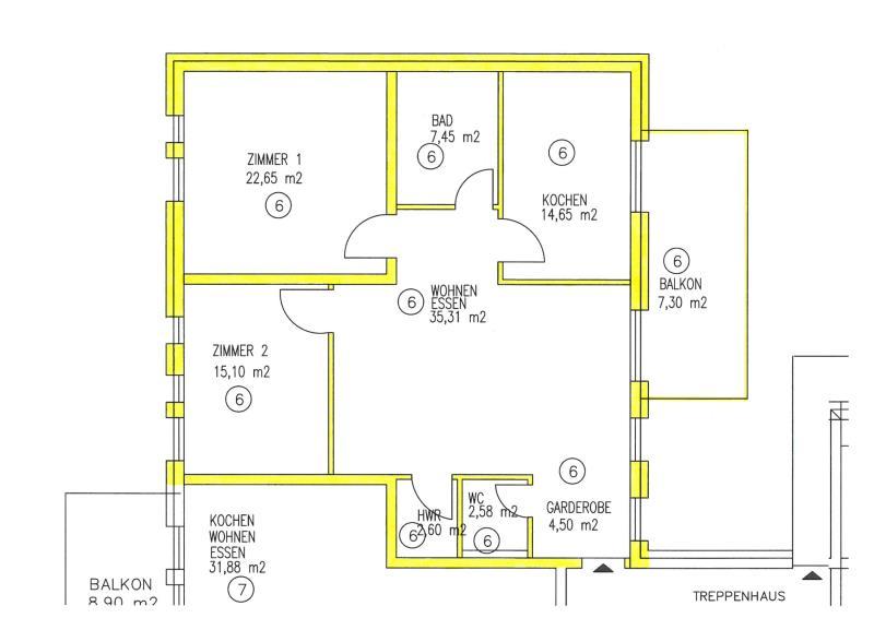 wohnung kaufen 4 zimmer 112.14 m² trier foto 2