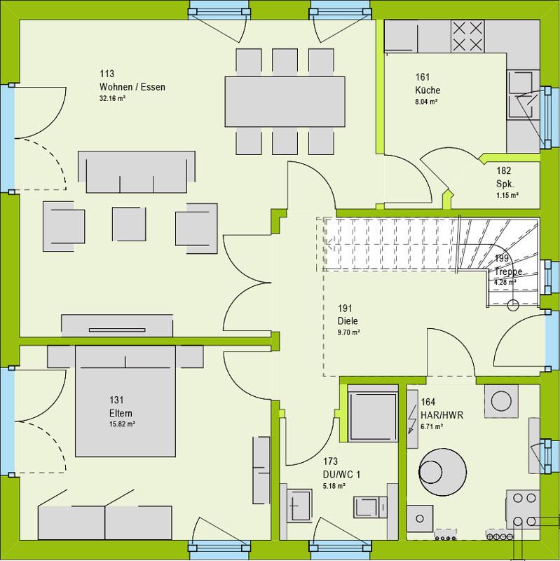 einfamilienhaus kaufen 4 zimmer 160 m² perl foto 2