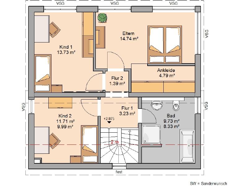 haus kaufen 4 zimmer 118 m² echternacherbrück foto 4