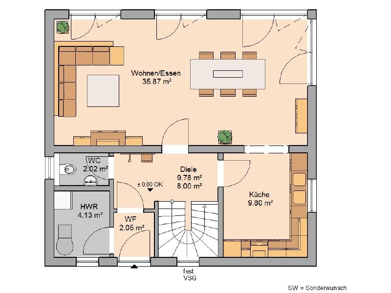 haus kaufen 4 zimmer 118 m² echternacherbrück foto 3