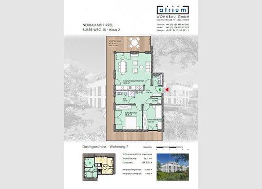 Penthouse zum kauf 2 zimmer in irrel de ref 4975492 for 16m2 zimmer einrichten