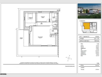 Appartement à vendre F4 à Audun-le-Tiche - Réf. 6077828
