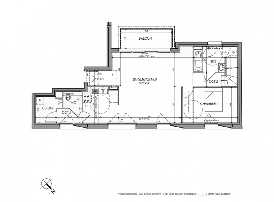 acheter appartement 4 pièces 119.6 m² la madeleine photo 2