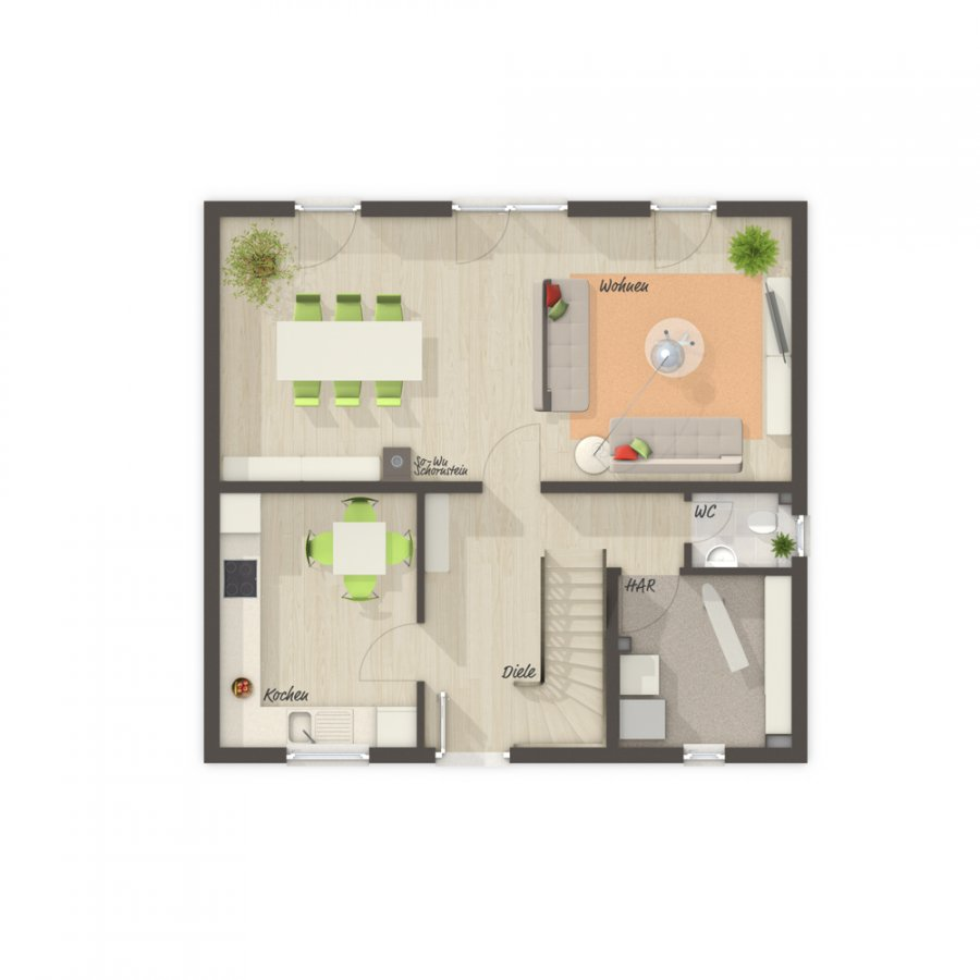 house for buy 4 rooms 113 m² perl photo 6