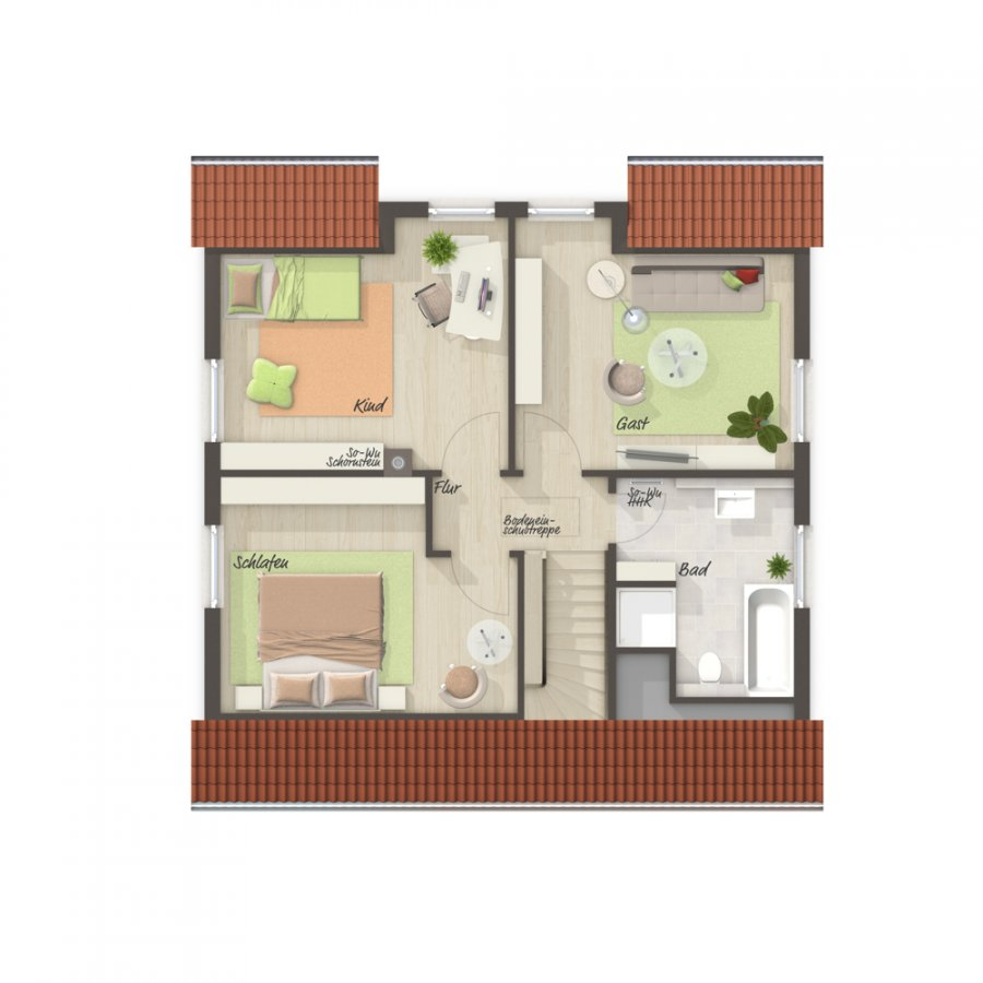 house for buy 4 rooms 113 m² perl photo 7