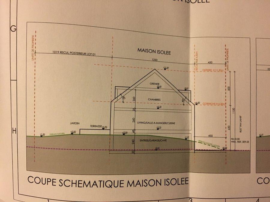 Terrain constructible à vendre à Christnach