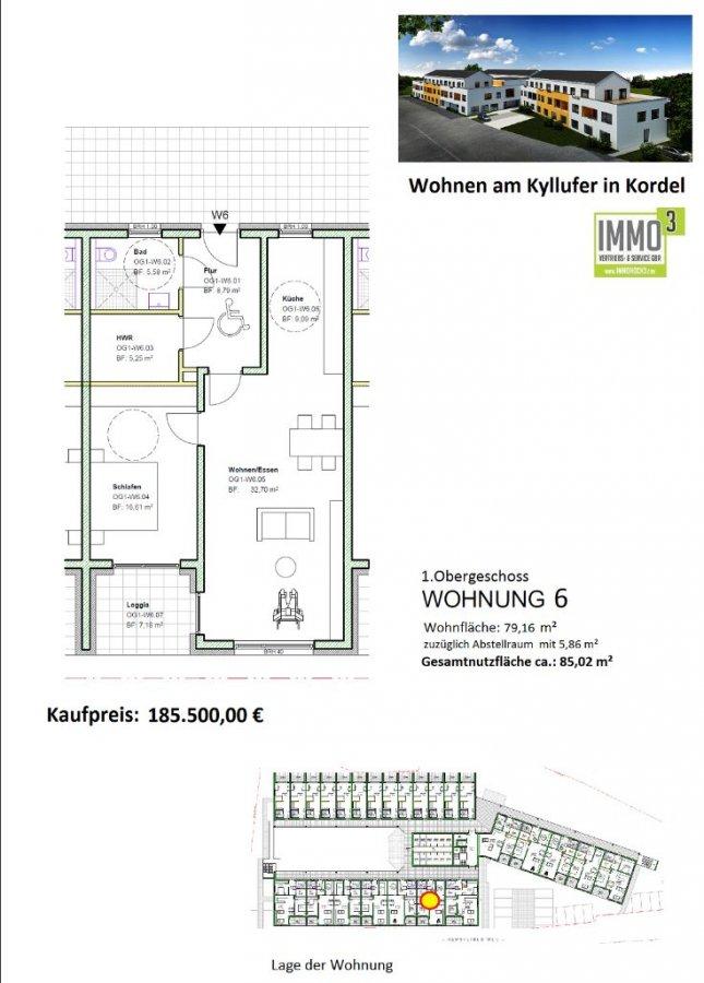 acheter appartement 2 pièces 79.16 m² kordel photo 2
