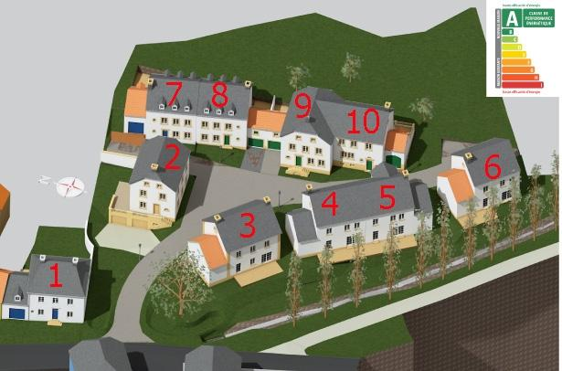 acheter maison mitoyenne 3 chambres 140 m² osweiler photo 3