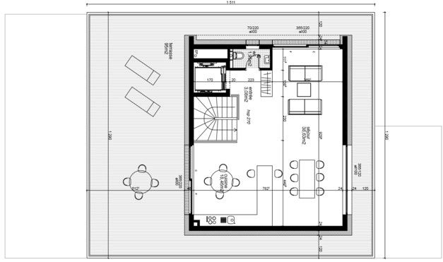acheter penthouse 3 chambres 153.94 m² luxembourg photo 3