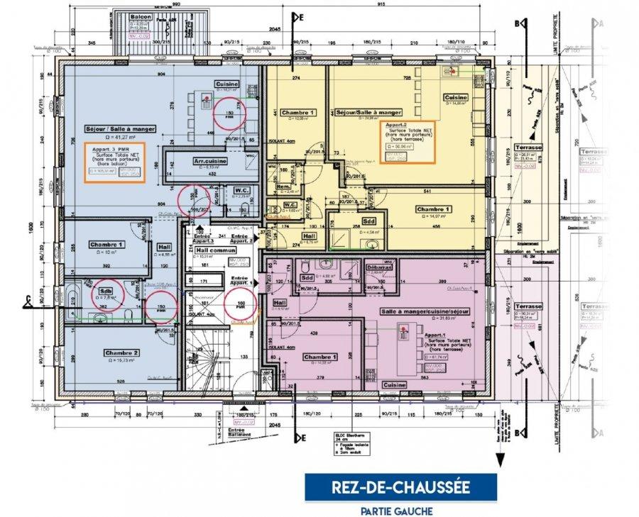 acheter appartement 3 chambres 117.41 m² bettendorf photo 6