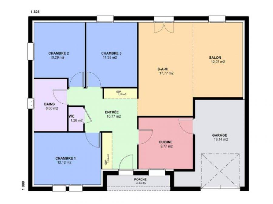 acheter maison 5 pièces 95 m² pommérieux photo 3