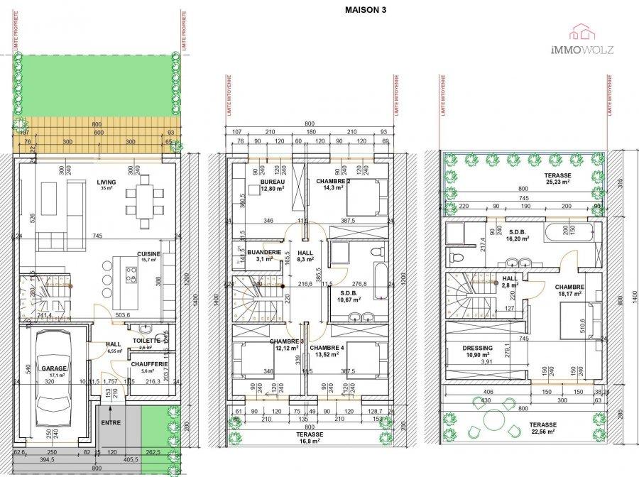 acheter maison jumelée 5 chambres 190 m² roullingen photo 4