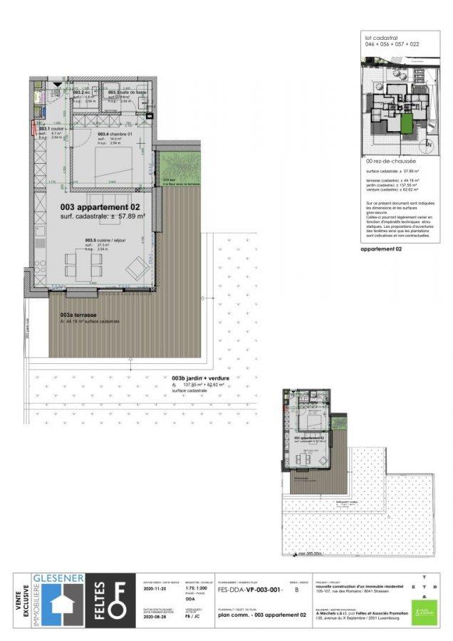 acheter appartement 1 chambre 57.89 m² strassen photo 4