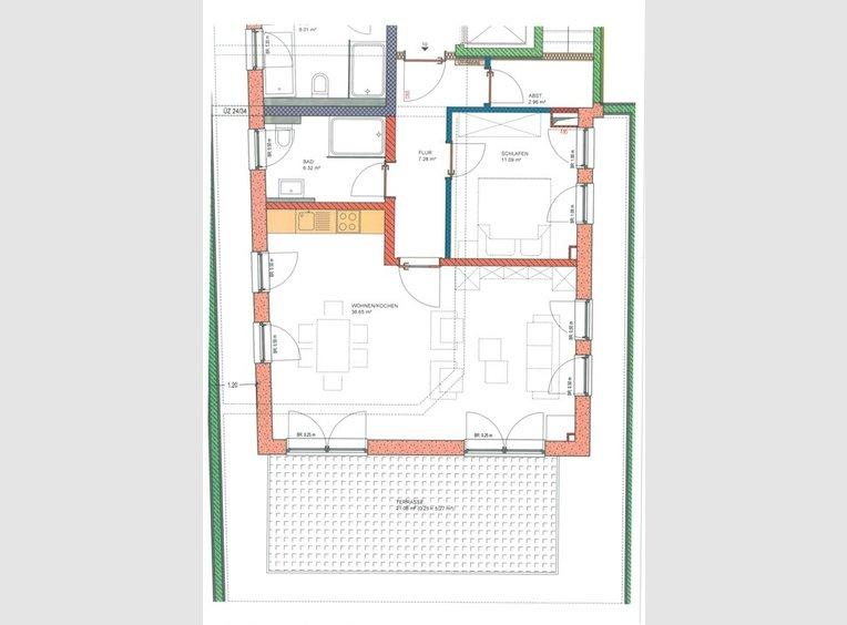 Appartement à louer 2 Pièces à Langsur (DE) - Réf. 7177652