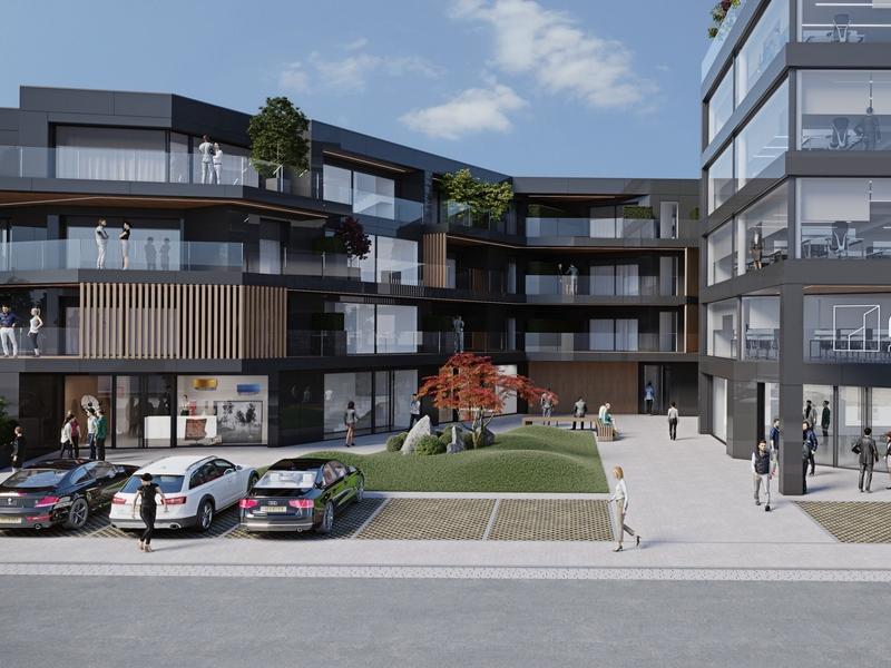 acheter penthouse 3 chambres 149.13 m² helmsange photo 3
