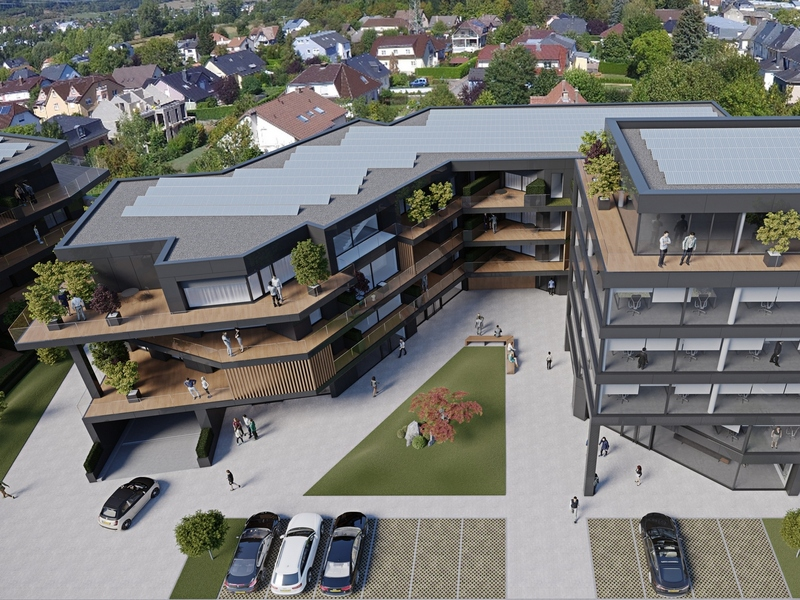 acheter penthouse 3 chambres 149.13 m² helmsange photo 2