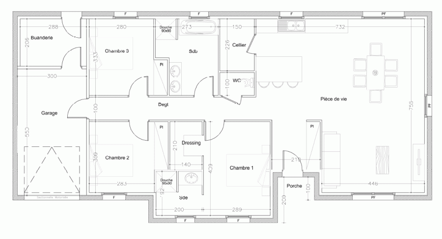 acheter maison individuelle 4 pièces 110 m² charmes photo 2