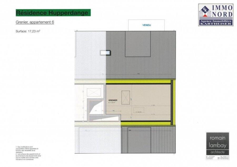 acheter appartement 1 chambre 64.65 m² hupperdange photo 4