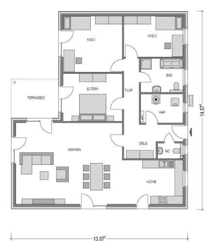 bungalow kaufen 4 zimmer 142.5 m² spangdahlem foto 3