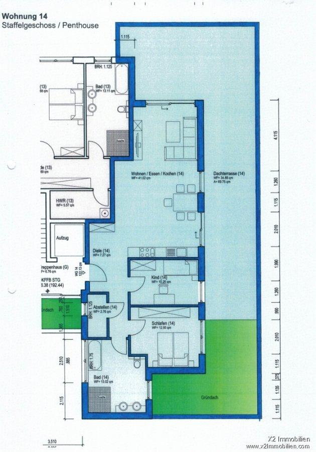penthouse-wohnung kaufen 3 zimmer 122.13 m² wittlich foto 2