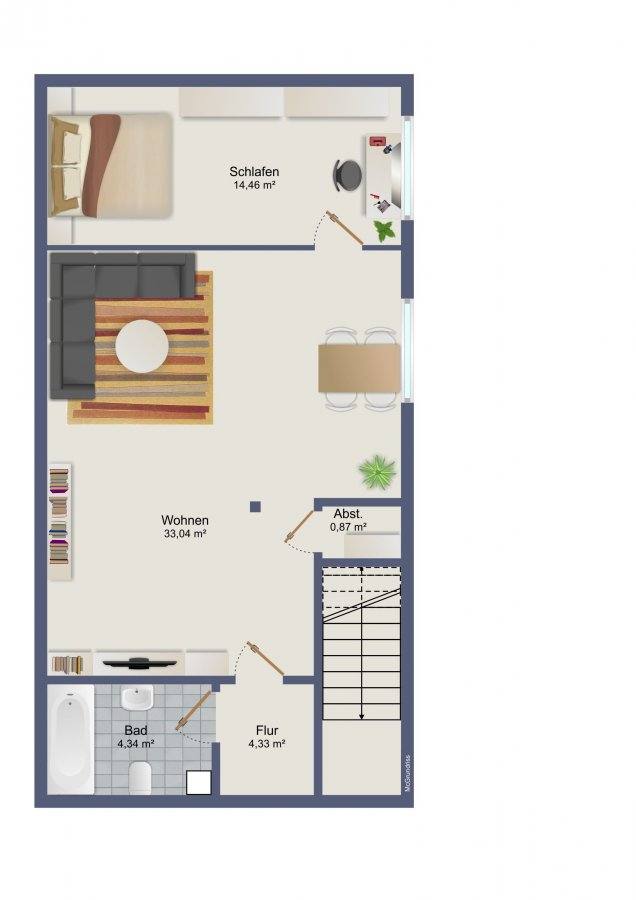 wohnung kaufen 3 zimmer 118 m² trier foto 3
