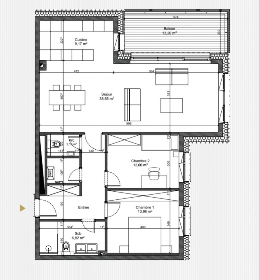 acheter appartement 2 chambres 99 m² luxembourg photo 6