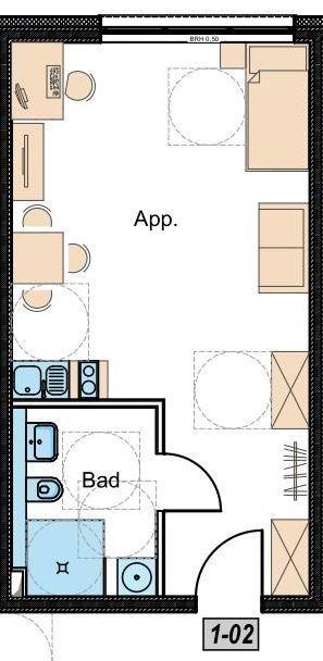wohnung kaufen 1 zimmer 40.01 m² nittel foto 4