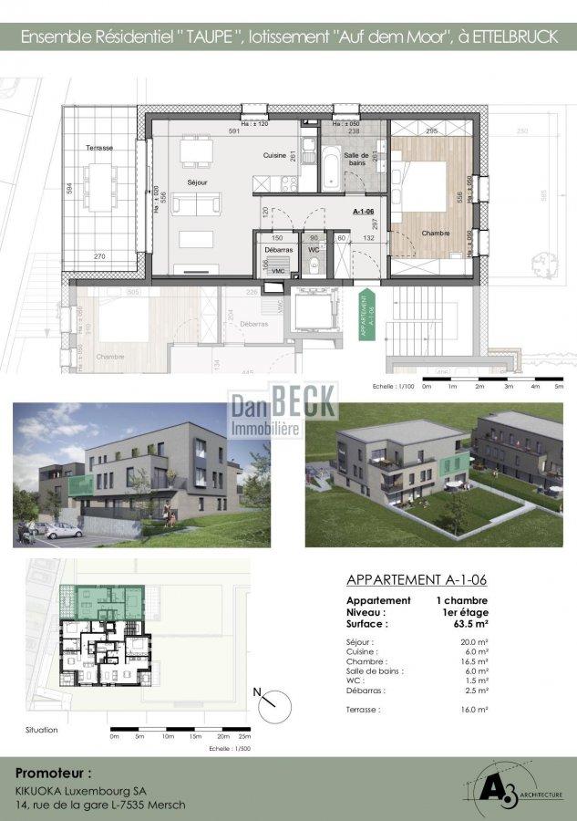 apartment for buy 1 bedroom 63.5 m² ettelbruck photo 2