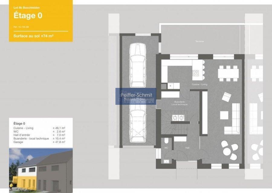 acheter maison jumelée 4 chambres 149 m² baschleiden photo 5