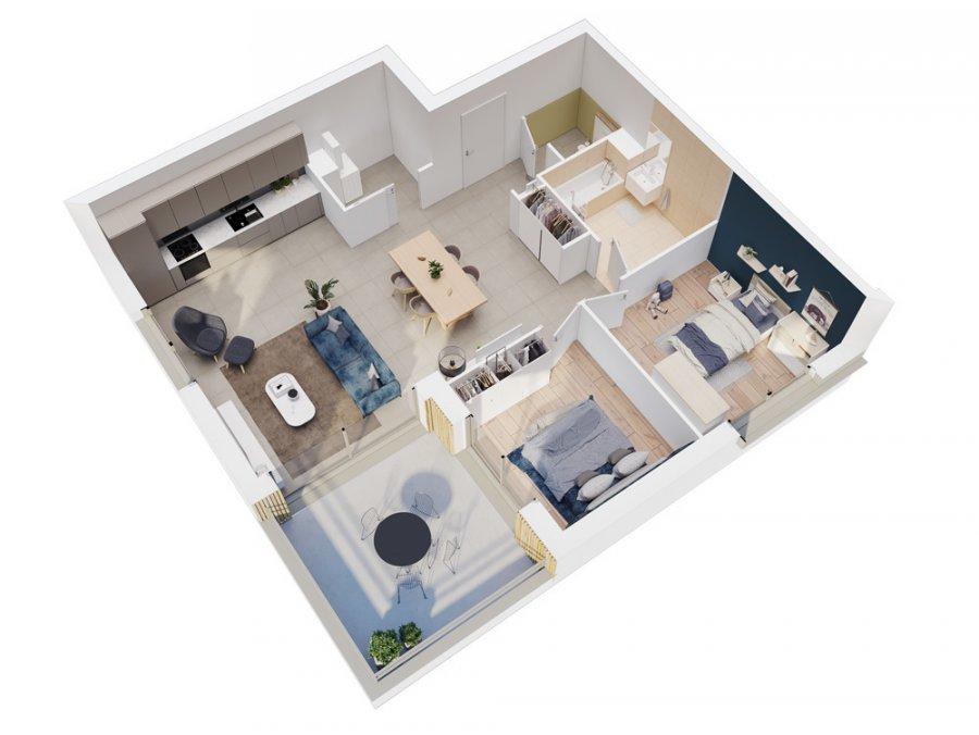 acheter appartement 3 pièces 76.8 m² vantoux photo 1