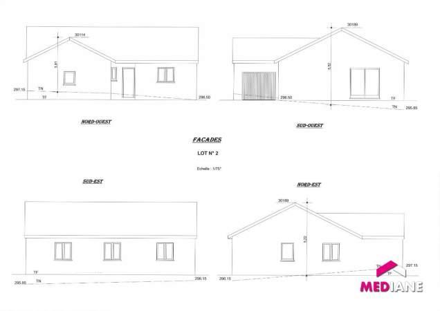 acheter maison 5 pièces 95 m² bayon photo 3