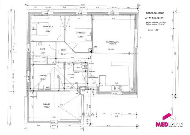 acheter maison 5 pièces 95 m² bayon photo 2