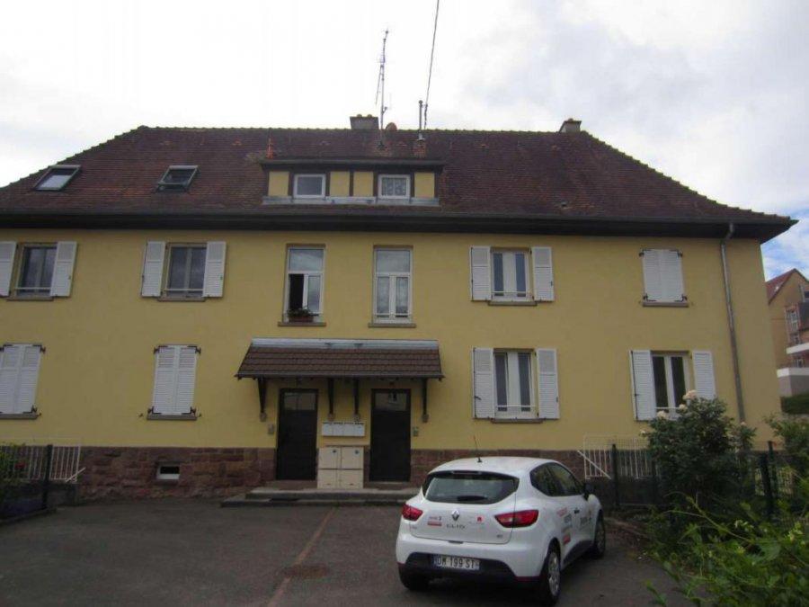 acheter appartement 3 pièces 63 m² guebwiller photo 1