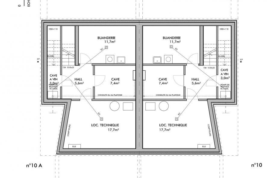 acheter maison jumelée 4 chambres 217 m² bascharage photo 7