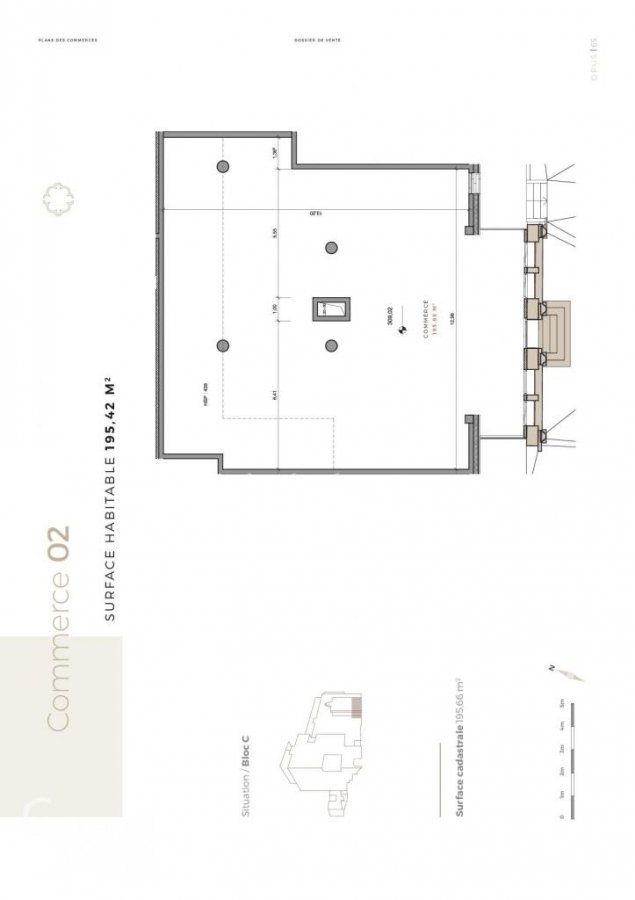 acheter bureau 0 chambre 195.42 m² differdange photo 6