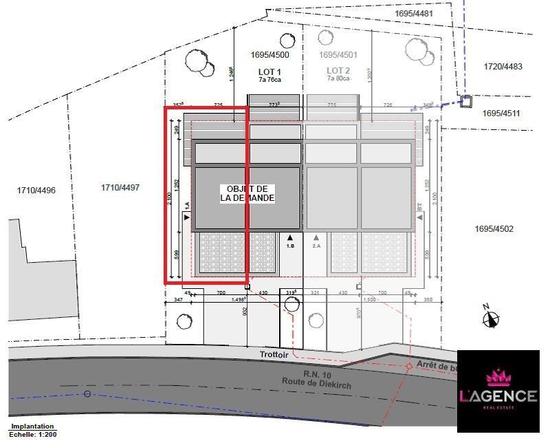 acheter maison mitoyenne 4 chambres 190 m² bollendorf-pont photo 7