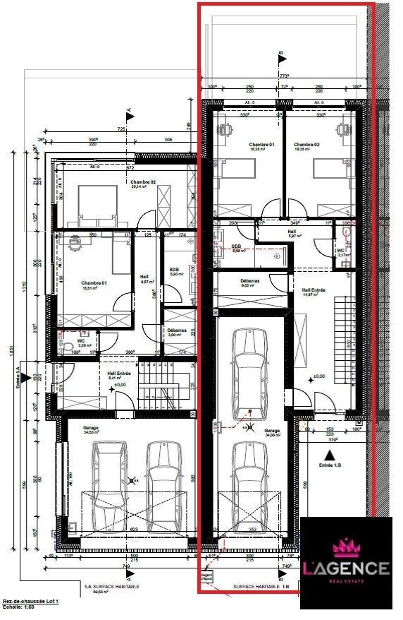 acheter maison mitoyenne 4 chambres 190 m² bollendorf-pont photo 6